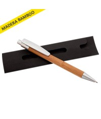 Lapiz Bambu con estuche
